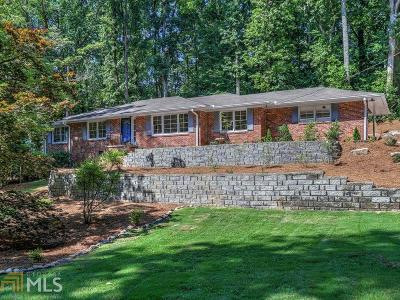 Atlanta Single Family Home For Sale: 1054 Mason Woods Dr