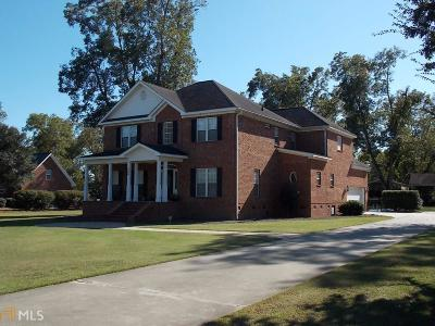 Brooklet Single Family Home For Sale: 726 West Lane St