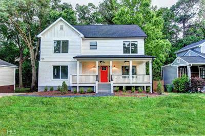 Atlanta Single Family Home For Sale: 1685 Van Vleck Ave