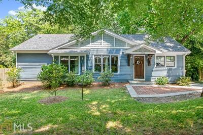 Decatur Single Family Home For Sale: 1234 Church St