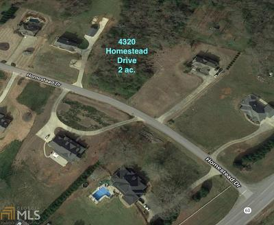 Residential Lots & Land For Sale: 4320 Homestead Dr