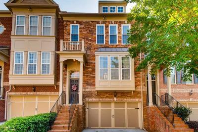 Atlanta Condo/Townhouse For Sale: 2873 Overlook Way