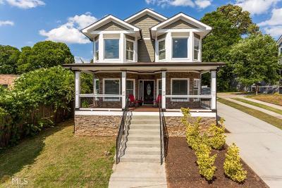 Atlanta Single Family Home For Sale: 270 Milton Ave