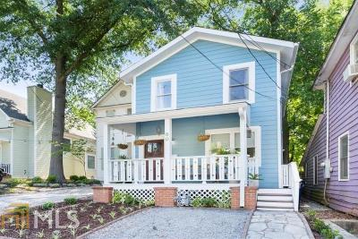 Atlanta Single Family Home For Sale: 80 Selman