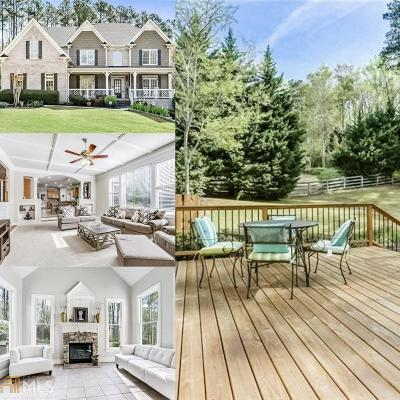 Milton Single Family Home For Sale: 550 Hickory Mill Ln