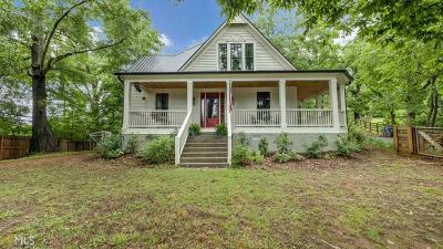 Jefferson Single Family Home For Sale: 15 Danielsville St