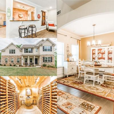 Sugar Hill Single Family Home For Sale: 5735 Riverside Bay