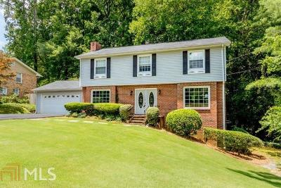 Sandy Springs Single Family Home For Sale: 6716 Wright Rd