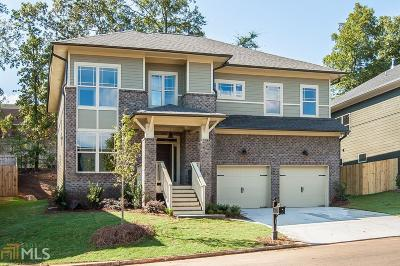 Atlanta Single Family Home For Sale: 1397 Sugarmill Oaks Ave