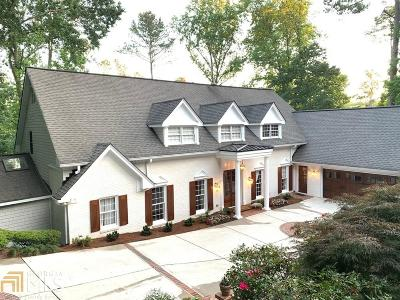 Roswell, Sandy Springs Single Family Home For Sale: 120 Ridgemont Trce