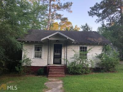 Haddock, Milledgeville, Sparta Single Family Home For Sale: 178 Coombs Ave