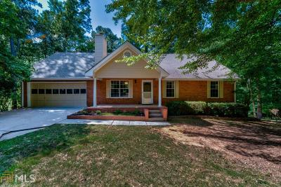 Suwanee Single Family Home For Sale: 121 Abbey Hill Rd