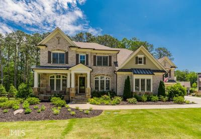 Alpharetta, Milton, Roswell Single Family Home For Sale: 4010 Orchard Way
