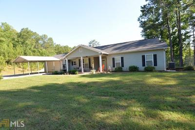 Greensboro, Eatonton Single Family Home For Sale: 194 Burtom Rd #Lot 6C
