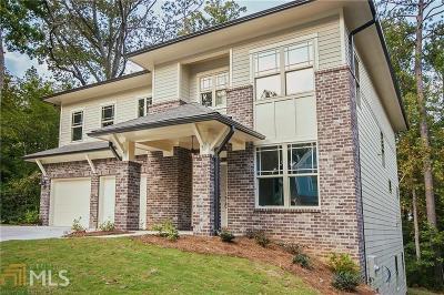 Atlanta Single Family Home New: 1408 Sugarmill Oaks Ave