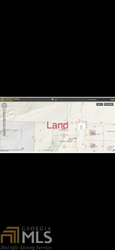Decatur Residential Lots & Land New: 3582 Wellhaun Rd