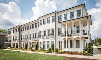 Atlanta Condo/Townhouse New: 1647 Morningtide Ct #60