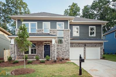 Atlanta Single Family Home New: 1421 Sugarmill Oaks Ave