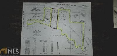 Newton County Residential Lots & Land New: 12087 Brown Bridge Rd