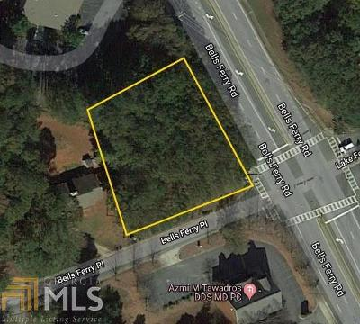 Acworth Residential Lots & Land For Sale: Bells Ferry Rd