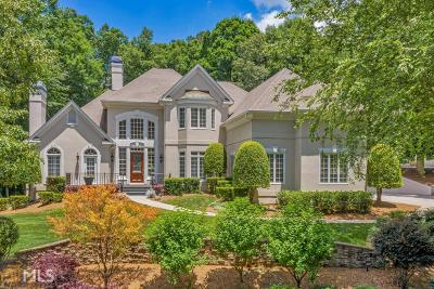 Roswell Single Family Home New: 8675 Sentinae Chase Dr