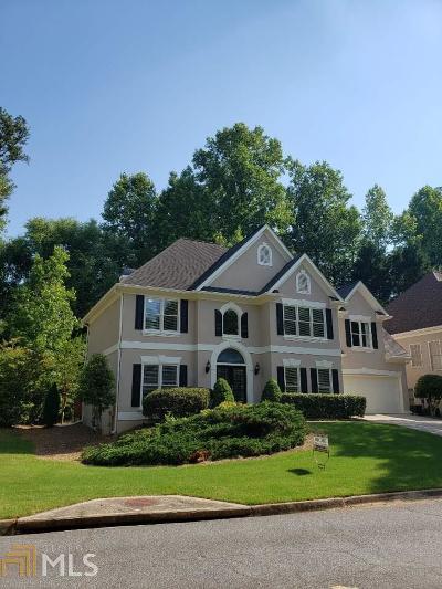 Alpharetta Single Family Home New: 4865 Haydens Walk Dr