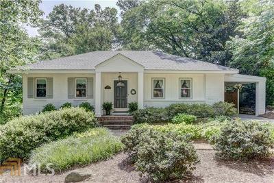 Atlanta Single Family Home New: 766 Channing Pl