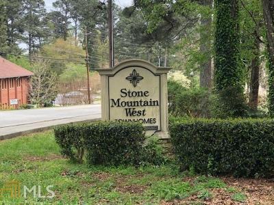 Stone Mountain Condo/Townhouse For Sale: 1150 Rankin St #E3