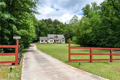Fayetteville Single Family Home Under Contract: 195 Crabapple Rd