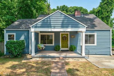 Atlanta Single Family Home New: 154 Candler Rd