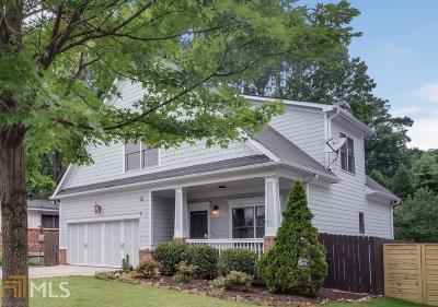 Atlanta Single Family Home New: 1667 Laurel Ave