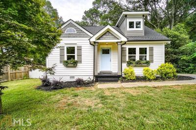 Decatur Single Family Home Under Contract: 751 Medlock Rd