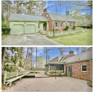 College Park Single Family Home For Sale: 5460 Scofield Rd