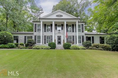 Roswell, Sandy Springs Single Family Home For Sale: 635 River Valley Rd