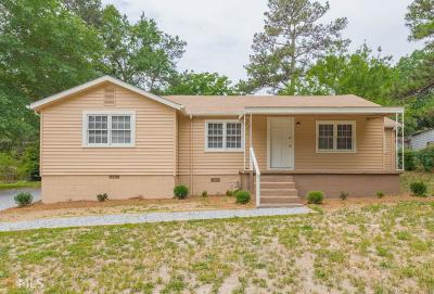 Douglasville Single Family Home New: 8125 Connally Dr