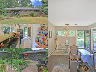 Historic Marietta Single Family Home For Sale: 713 Meadowbrook Ln
