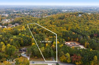 Cobb County Residential Lots & Land New: 2020 Allgood Rd