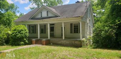 Haddock, Milledgeville, Sparta Single Family Home For Sale: 397 Allen Memorial Dr