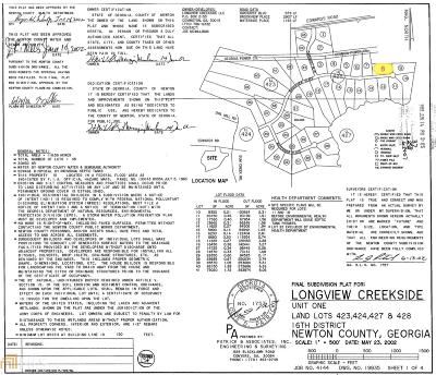 Newton County Residential Lots & Land New: 30 Brookview Pl