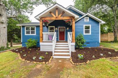 Decatur Single Family Home New: 2609 White Oak Dr