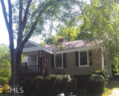 Haddock, Milledgeville, Sparta Single Family Home For Sale: 773 Matheson Rd