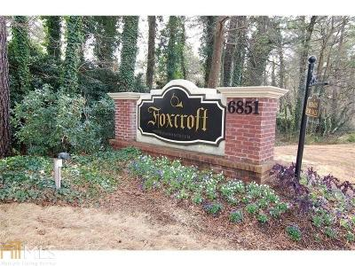 Sandy Springs Condo/Townhouse For Sale: 6851 Roswell Rd #J-20