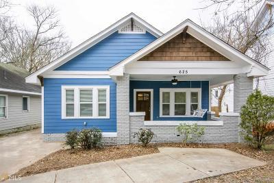 Atlanta Single Family Home New: 625 Moreland Av