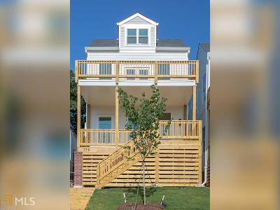 Atlanta Single Family Home New: 759 Martin St