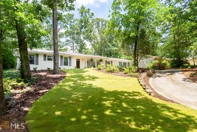 Atlanta Single Family Home New: 6400 Colewood Ct
