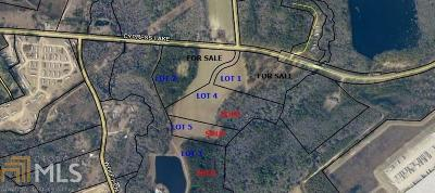 Statesboro Residential Lots & Land For Sale: Cypress Lake Rd #Lot 2