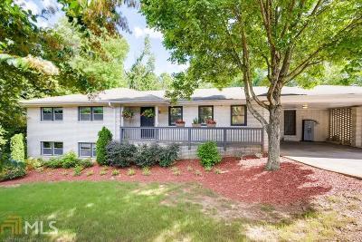 Marietta Single Family Home New: 1792 Sandy Plains Road