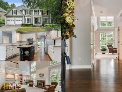 Johns Creek Single Family Home Contingent With Kickout: 410 Eastbourne Way