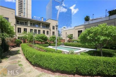 Condo/Townhouse For Sale: 3376 Peachtree Rd #Maisonet
