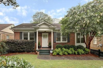 Atlanta Single Family Home New: 636 Somerset Ter
